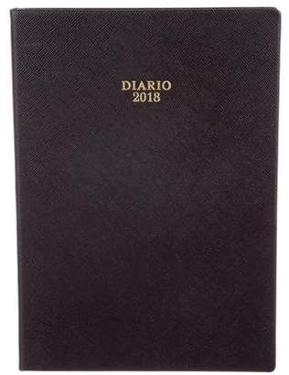 Prada 2018 Saffiano Leather Diary