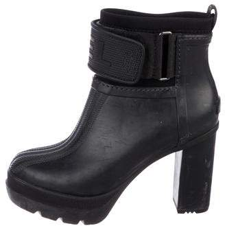 Sorel Round-Toe High Heel Boots