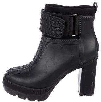 Sorel Round-Toe High Heel Boots