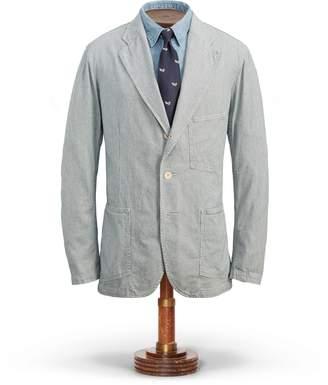Ralph Lauren Striped Cotton Sport Coat