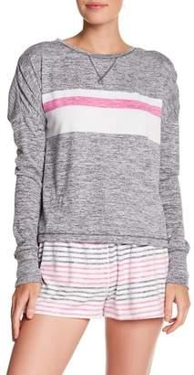 Kensie Stripe Knit Pullover