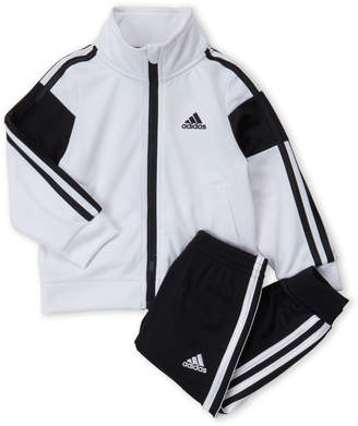adidas Infant Boys) Two-Piece Anthem Tricot Track Suit Set