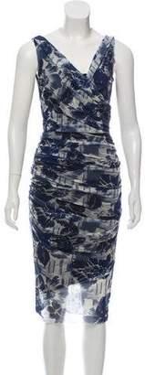 Jean Paul Gaultier Soleil Sleeveless Midi Dress