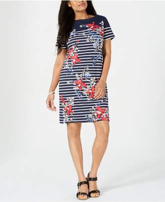 Karen Scott Liberty Garden Printed Dress