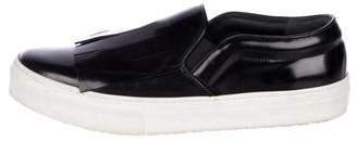 Celine Patent Leather Slip-On Sneaklers