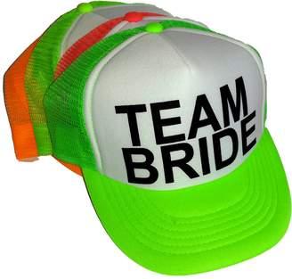 ThatsRad Neon Team Mesh Trucker Hat Cap Bachelorette Party Wedding Snapback 53ab40c7535e