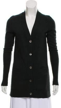 Nili Lotan Cashmere Button-Up Cardigan