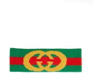 e95e845de27 COM · Gucci Logo wool headband