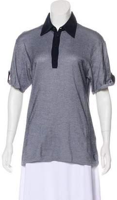 Saint Laurent Vintage Short Sleeve Top