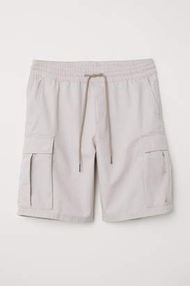H&M Cargo Shorts - Brown
