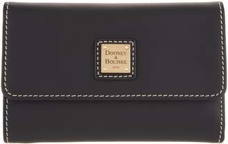 Dooney & Bourke Vachetta Leather Flap Wallet - Beacon