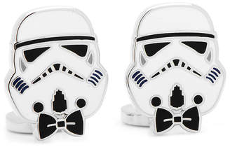 Star Wars STARWARS Storm Trooper Bow Tie Cuff Links