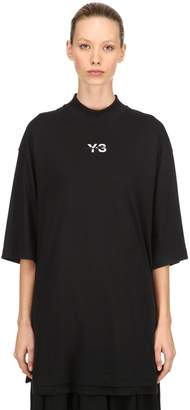 Y-3 Logo Layered Long Jersey T-Shirt