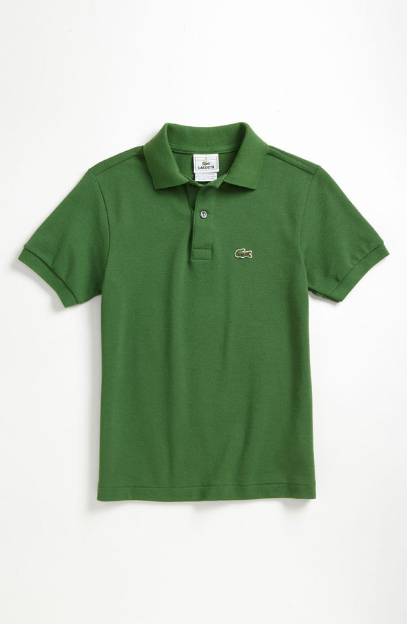 Lacoste Short Sleeve Pique Polo (Little Boys & Big Boys)
