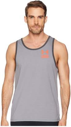 Under Armour UA Stacked Left Chest Tank Top Men's Sleeveless