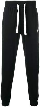 HUGO BOSS tapered logo track trousers