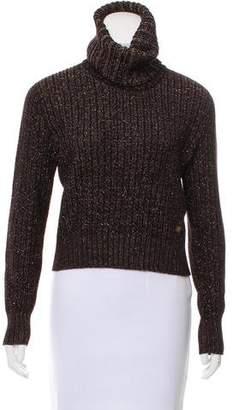 Chanel Metallic Wool Sweater