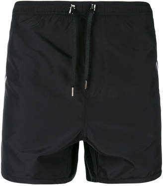 Neil Barrett stripe swim shorts