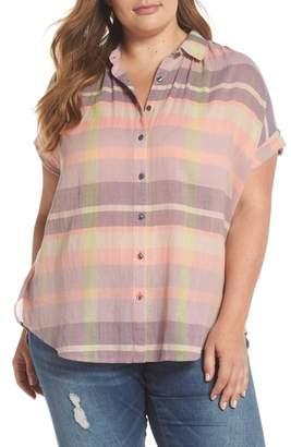 Caslon Sheer Stripe Shirt