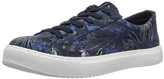 Armani Exchange A|X Men's Exotic Jungle Print Low Cut Sneaker Blue