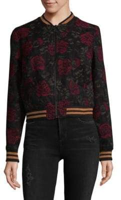 Sanctuary Rose Seducation Bomber Jacket