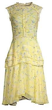 Jason Wu Collection Women's Printed Silk Chiffon Dress