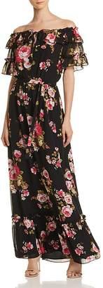 WAYF Jasper Off-the-Shoulder Maxi Dress - 100% Exclusive