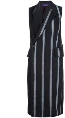 Y's long striped waistcoat