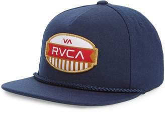 RVCA Grill Snapback Cap