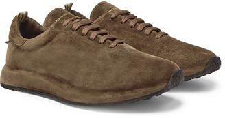 Officine Creative Race Suede Sneakers