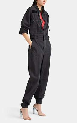 RE/DONE Women's Cotton Ripstop Jumpsuit - Black