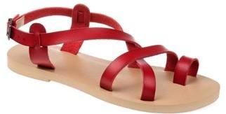 Brinley Co. Womens Crisscross Gladiator Sandal