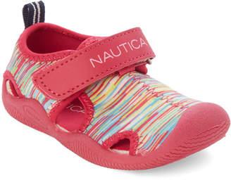 3b34b9868bf2 Nautica Toddler Girls) Neon   Multi Water Shoes