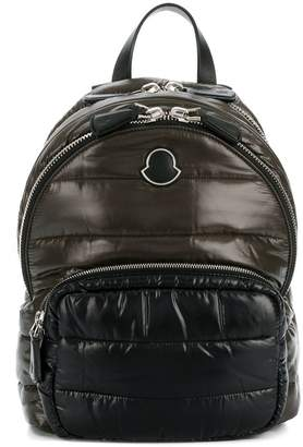 Moncler logo quilted backpack
