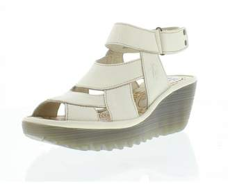 Fly London Yair Off White Sandal