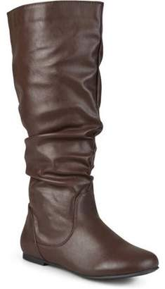 Co Generic Brinley Womens Wide-Calf Slouch Riding Mid-Calf Boots