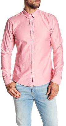 Scotch & Soda Solid Slim Fit Shirt