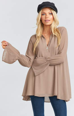 Show Me Your Mumu Perveen Pirate Tunic ~ Dune Chiffon