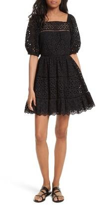 Women's Rebecca Taylor Amora Eyelet Dress $550 thestylecure.com