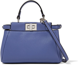 Fendi Micro Peekaboo leather shoulder bag $1,550 thestylecure.com