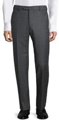 Zanella Parker Prince Plaid Wool Pants
