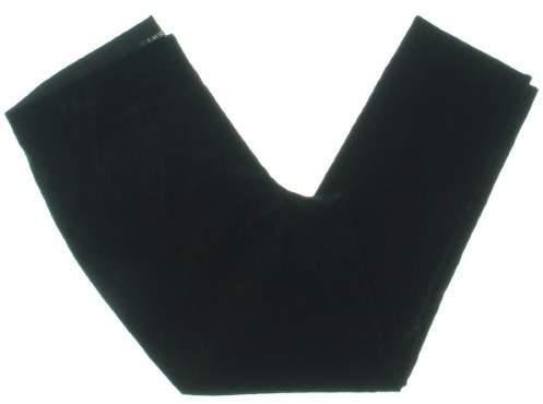 Lauren Ralph Lauren Womens Velvet Flat Front Casual Pants