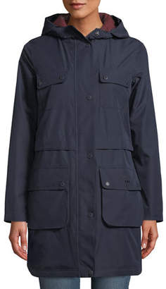 Barbour Isobar Waterproof Jacket w/ Four Pockets