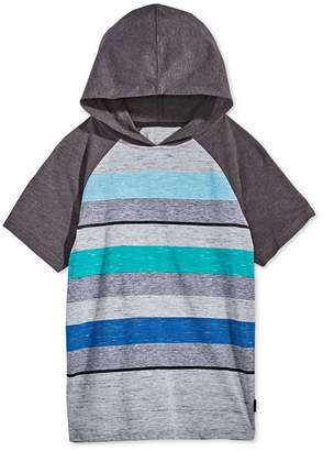 Univibe Big Boys Striped Raglan-Sleeve Hoodie
