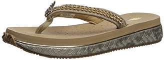 Volatile Women's Pineapple Wedge Sandal