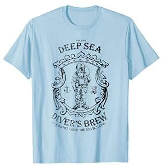 Deep Sea Diver's Brew Scuba Diver T-shirt