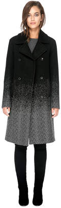 Soia & Kyo FEY straight-fit above-knee length wool coat