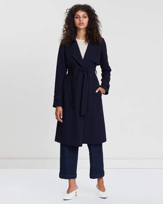 Theory Oaklane Crepe Trench
