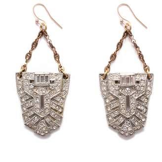 Lulu Frost Vintage Art Deco Hannaford Earrings
