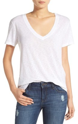 Women's Splendid Short Sleeve V-Neck Tee $68 thestylecure.com